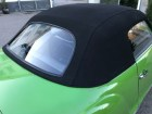 Verdeck Karmann Ghia f. Glasscheibe / Softtop Karmann Ghia for hard glass window