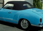 Verdeck Karmann Ghia m. PVC-Scheibe / Softtop Karmann Ghia with PVC window